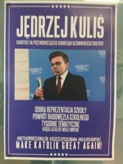 14.09 – Wybory do Samorządu Uczniowskiego