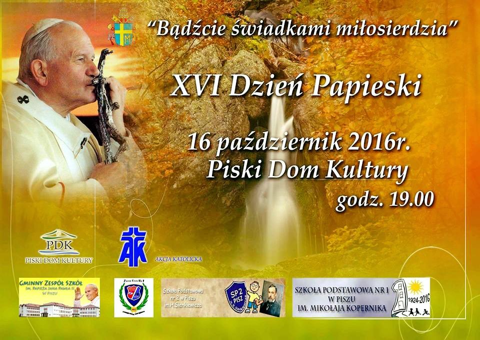 13.10 – Obchody XVI Dnia Papieskiego
