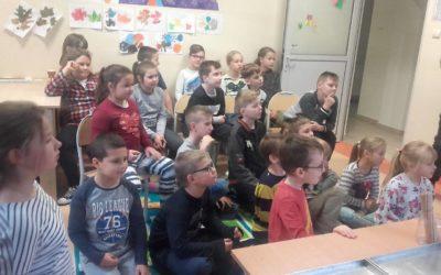 Słodkie spotkanie w klasie I i IV