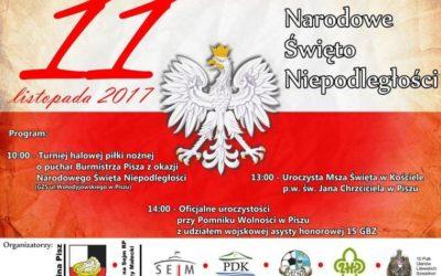11.11 — Narodowe Święto Niepodległości w Piszu