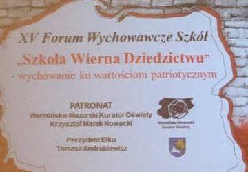 XV Forum Wychowawcze Szkół