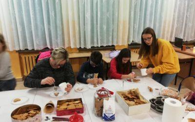 Warsztaty świąteczne w ZSK