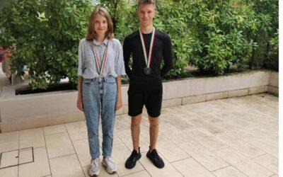 Krystian Krysiak  – zdobywca brązowego medalu na zawodach we Włoszech